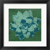 Framed Boho Succulent