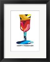 Framed Passover Goblet