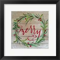 Framed Merry