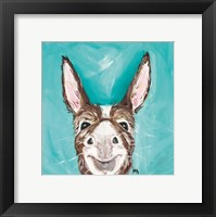 Framed Mr. Donkey