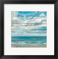 Framed Ocean View II