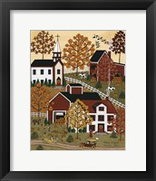 Framed Autumn Drive