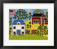 Framed Country Meadows