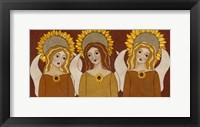Framed Three Angels