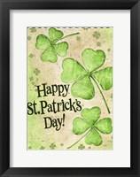 Framed St. Patrick's Day Clover