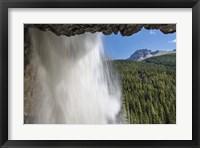 Framed Behind Panther Falls