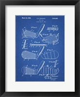 Framed Golf Club Patent - Blueprint