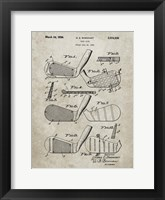 Framed Golf Club Patent - Sandstone