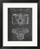 Framed Photographic Camera With Coupled Exposure Meter Patent - Chalkboard