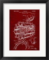 Framed Aircraft Propulsion & Power Unit Patent - Burgundy