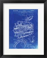Framed Aircraft Propulsion & Power Unit Patent - Faded Blueprint
