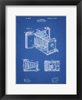 Framed Photographic Camera Patent - Blueprint