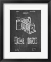 Framed Photographic Camera Patent - Chalkboard