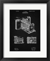 Framed Photographic Camera Patent - Vintage Black