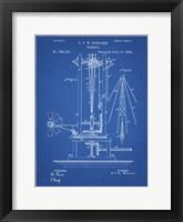Framed Windmill Patent - Blueprint