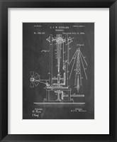 Framed Windmill Patent - Chalkboard