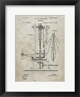 Framed Windmill Patent - Sandstone