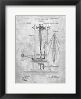 Framed Windmill Patent - Slate