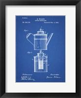 Framed Coffee Percolator Patent - Blueprint