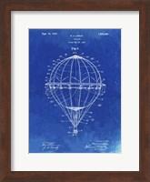 Framed Balloon Patent - Faded Blueprint