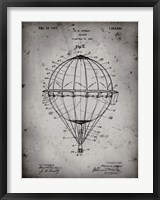 Framed Balloon Patent - Faded Grey