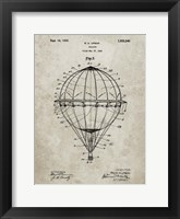 Framed Balloon Patent - Sandstone