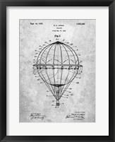 Framed Balloon Patent - Slate