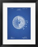 Framed Golf Ball Patent - Blueprint