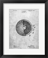 Framed Golf Ball Patent - Slate