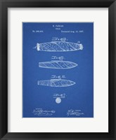 Framed Cigar Patent - Blueprint