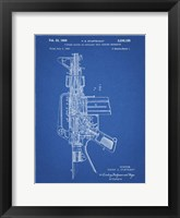 Framed Firearm With Auxiliary Bolt Closure Mechanism Patent - Blueprint