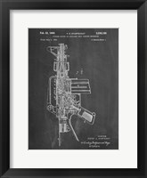 Framed Firearm With Auxiliary Bolt Closure Mechanism Patent - Chalkboard