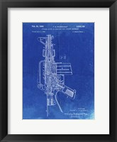 Framed Firearm With Auxiliary Bolt Closure Mechanism Patent - Faded Blueprint