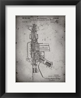 Framed Firearm With Auxiliary Bolt Closure Mechanism Patent - Faded Grey