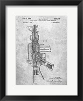 Framed Firearm With Auxiliary Bolt Closure Mechanism Patent - Slate