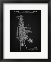 Framed Firearm With Auxiliary Bolt Closure Mechanism Patent - Vintage Black
