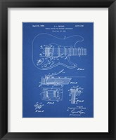 Framed Tremolo Device for Stringed Instruments Patent - Blueprint
