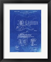 Framed Tremolo Device for Stringed Instruments Patent - Faded Blueprint