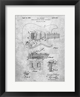 Framed Tremolo Device for Stringed Instruments Patent - Slate