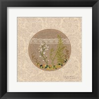 Framed Frolic in the Forest - Stitchery