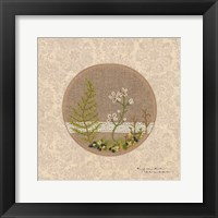 Framed Meet Me in the Woods - Stitchery