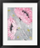 Framed Bold Pink Blooms