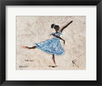 Framed Dancer in Blue
