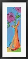 Framed Whimsical Vase