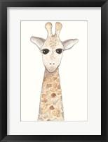 Framed Gerry Giraffe