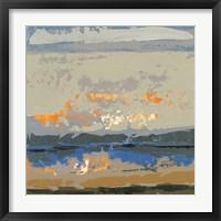 Framed Evening Killala Bay