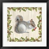 Framed Woodland Critter III