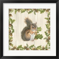 Framed Woodland Critter I