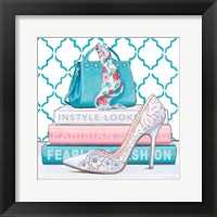 Fearless Fashion III Framed Print