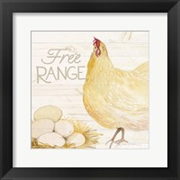 Framed Life on the Farm Chicken IV